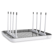 Munchkin Shine Stainless Steel Drying Rack, Silver
