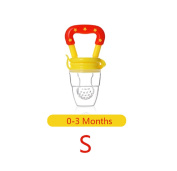 NEW! 1 Pcs Portable Infant Food Baby Nipple Feeder Silicone Pacifier Fruits Feeding Supplies Soother Nipples Soft Baby Feeding Tool Bebe