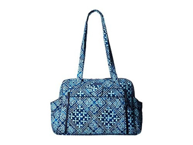 Vera Bradley Stroll Around Baby Bag Cuban Tiles Nappy Bags