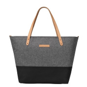 Petunia Pickle Bottom Downtown Tote Graphite/Black