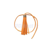 Velvet Tassel Pendant Charms for Jewellery Making Key Chain DIY Crafts Sewing #Orange
