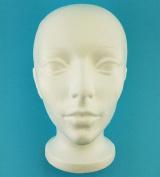Styrofoam Smoothfoam Mannequin Wig Head