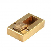 Leather Craft Making Leather Edge Roller Oil Painting Box With 2 Brass Rollers Leather Edge Processing Tool