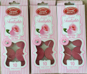 Home Select Scented Tealight Candles 3 X 10 Packs Ea 10ml Romantic Garden supply:luckydonk