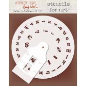 Studio 490 Select-A-Stencil-Lowercase