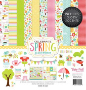 Echo Park Paper Company CS120016 Celebrate Spring Collection Kit