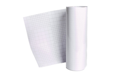 Transfer Tape w/ Grid- 30cm x 15m Roll Perfect Alignment for Adhesive Vinyl, Transfer Paper Tape Roll Self Stick Backing for, Walls, Glass, Windows, Decals and More. Extra Large Transfer Tape Roll