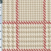 Newhall Neutral Red, Fabric Sold By the Yard