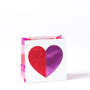 Papyrus Multicolor Heart Small Gift Bag