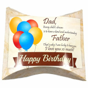 Happy Birthday Dad Greeting Gift Card Box