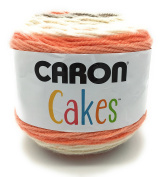 Caron Cake Self Striping Yarn 1 Ball Strawberry Trifle 210mls
