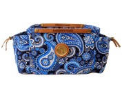 Angelina's Palace Hetta PurseIn purse organiser light weight with 17 pockets expandable side pouches leather ropes