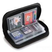 Kemilove Memory Card Storage Wallet Case Bag Holder SD Micro Mini 22 Slots Camera Phone