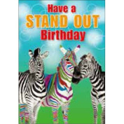 3D Lenticular Birthday Card - STAND OUT
