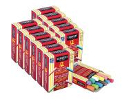 Sargent Art 66-2021 144 Assorted Colours Dustless Chalk Sticks