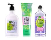 Bath & Body Works Apple Blossom & Lavendar Trio - Body Cream, Body Lotion & Shower Gel