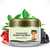 OR Pure Deep Cleansing Carbonated Bubble Clay Mask Replenishment and Moisturising Mud Mask for Facial Treatment Detoxing