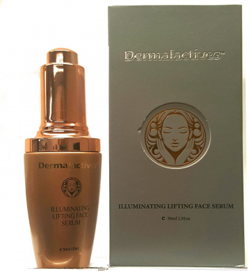 dermalactives illuminating lifting face serum