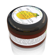 Organic FACIAL EXFOLIATION MASK & DAILY SCRUB | Pure Honey & Papaya Formula | Sensitive & Rosacea