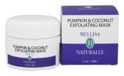 Mellisa B Naturally - Pumpkin & Coconut Exfoliating Mask - 30ml