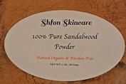 Natural Organic 100% Pure Mysore Sandalwood Powder, 30 Grammes