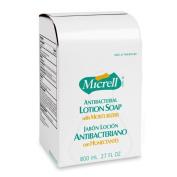 Gojo Lotion Soap, Micrell, Antibacterial, 800ml, Golden