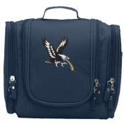 Travel Toiletry Bags Eagle With Rainbow Washable Bathroom Storage Hanging Cosmetic/Grooming Bag For Household Business Vacation, Multi Compartments, Waterproof Lining