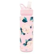 Bando Floral Work it Out Water Bottle Lady of Leisure
