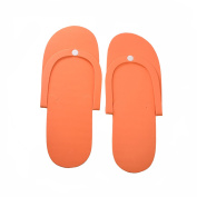 12 Pairs Disposable Foam Pedicure Slippers Multi Colour Flip Flop Salon Nail Spa