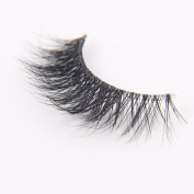 Arimika 3D Mink Eyelashes -Clear Invisible Flexible Band,Reusable with Proper Care,Natural Looking