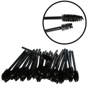 100 Pack Disposable Eyelash Mascara Brushes Wands Applicator Makeup Brush For Upper and Lower Lashes or Brows
