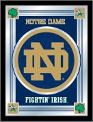 "NCAA Notre Dame Fighting Irish ""ND"" Logo Mirror, 43cm X 60cm"