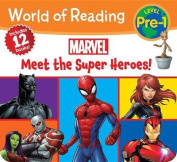 World of Reading Marvel Meet the Characters (Pre-Level 1 Boxed Set)