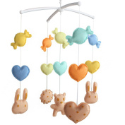 Baby Birthday Gift [Biscuits] Musical Mobile, Baby Room Decoration