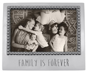 "Mariposa ""Family is Forever"" 4 x 6 Frame"