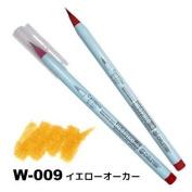 Deleter Neopiko-4 Watercolour Brusher Marker Pen [ W-009 Yellow Ochre ] for Comic Manga Graphic Design and Illustration