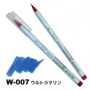 Deleter Neopiko-4 Watercolour Brusher Marker Pen [ W-007 Ultramarine ] for Comic Manga Graphic Design and Illustration