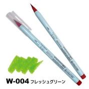 Deleter Neopiko-4 Watercolour Brusher Marker Pen [ W-004 Fresh Green ] for Comic Manga Graphic Design and Illustration