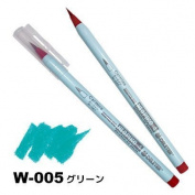 Deleter Neopiko-4 Watercolour Brusher Marker Pen [ W-005 Green ] for Comic Manga Graphic Design and Illustration