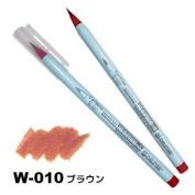 Deleter Neopiko-4 Watercolour Brusher Marker Pen [ W-010 Brown ] for Comic Manga Graphic Design and Illustration