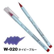 Deleter Neopiko-4 Watercolour Brusher Marker Pen [ W-020 Navy Blue ] for Comic Manga Graphic Design and Illustration