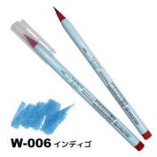 Deleter Neopiko-4 Watercolour Brusher Marker Pen [ W-006 Indigo ] for Comic Manga Graphic Design and Illustration