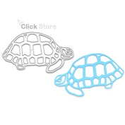 Tortoise Metal Cutting Dies Template Embossing Folder Stencil DIY Scrapbooking Album Paper Card