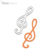 Music Note Metal Cutting Dies Embossing Folder Stencil DIY Scrapbooking Album Paper Card Decorative Template