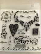 Close To My Heart Amore My Acrylix Stamp Set D1445