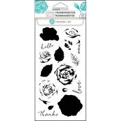 Hampton Art Layering Clear Stamps 10cm x 20cm -Roses