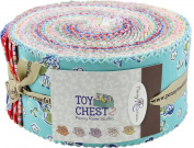 Penny Rose Studio Toy Chest 2 Rolie Polie 40 6.4cm Strips Jelly Roll Penny Rose Fabrics