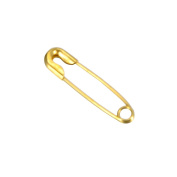 HooAMI 500pcs Gold Plated Safety Pins for Blankets, Skirts, Kilts, Crafts
