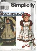 Simplicity # 9977 Daisy Kingdom Pinafore Dress Sewing Pattern Size