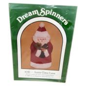 "Vintage 1988 Great American Quilt Factory Dream Spinners ""Santa Claus Lane"" Hanging Santa Pattern No. 145"